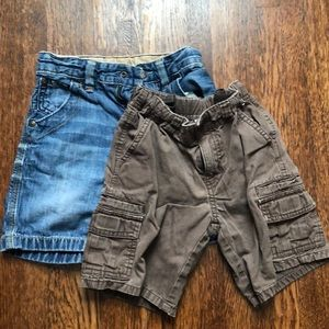 2 Pair Boys Shorts